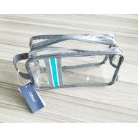 Buy cheap Luxury Reusable Soft PVC Cosmetic Bag Clear Makeup Bag With Hand Loop from wholesalers