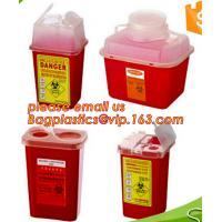 Buy cheap BIOHAZARD SHARP CONTAINERS, STORAGE BOX, CRATES, PET FOOD BOWL, DUSTBINS, PALLETS, BOXES, BANGDAGES, from wholesalers