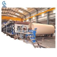 Buy cheap Paper Factory Waste Paper Recycling Machine 1092mm Kraft Paper Machine from wholesalers