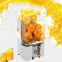 Buy cheap Electric Orange Juicer Commercial Squeezer Machine Lemon Automatic Auto Feed Perfect for Drink Bar from wholesalers