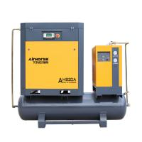 Buy cheap Airhorse Best Price 11kw silent air compressor high air flow with tank and dryer,line filters for sale from wholesalers