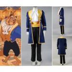 Buy cheap Princess Dress Wholesale Blue Beauty and the Beast Prince Adam Cosplay Costume Jacket Shirt Pants Cartoon from wholesalers