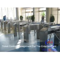 Buy cheap Cinema / Park / Station / Metro Entrance Code Ticket Management Systems And Turnstile Gate from wholesalers
