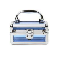 Wholesale Blue Acrylic Cosmetic Case Home Makeup Organizer Beauty Storage Box from china suppliers