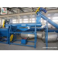 Pet Recycling Machinery Pet Bottle Recycling Plant 100KW Automatic Manufactures