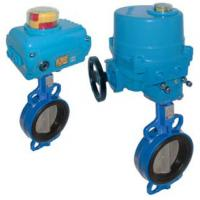 Buy cheap eccentric butterfly valve-double flange valve from wholesalers