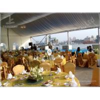 Buy cheap 15X20 200 Seater Luxury Wedding Tents A Frame Shape 100 Km/H Wind Resistance from wholesalers
