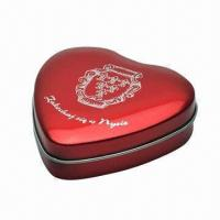 Wholesale Gift Tin with Prints and Logos, Available in Nice Design from china suppliers