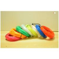 Buy cheap Cheaper price in China 2017 brightness multicolor EL wire roll 4meter/10meter from wholesalers