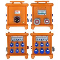 Wholesale MK2 Portable Power Distribution 380V 125A Thermoplastic IP66 Custom Power Distribution With Circuit Breakers' Protection from china suppliers
