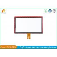 Buy cheap Long Life Capacitive Touchscreen Display , LCD Capacitive Touch Screen Panel from wholesalers