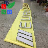 Buy cheap Outdoor Illuminated Signs Front Lit Letter Signs For Shop Logo from wholesalers