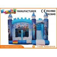 Wholesale Constant 0.55mm Pvc Tarpaulin Inflatable Jumpers Bouncers Combo With Slide from china suppliers