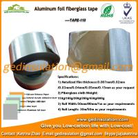 Buy cheap Widely use Aluminum foil coated fiberglass cloth insulation tape from wholesalers