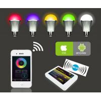 Wholesale RGBw warm white 9w led bulb, remote control led light bulb,wifi color changing bulbs light from china suppliers