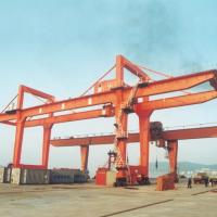 Buy cheap Adjustable Double Girder Gantry Crane / Ship Container Crane Box Type from wholesalers
