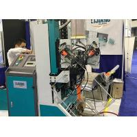 Buy cheap Double Glass Desiccant Filling Machine PLC Control System For Arc Angle Frame product