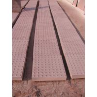 Natural red sandstone paving stone