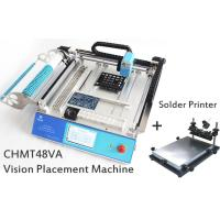 Buy cheap SMT Placement Equipment Small Desktop Pick And Place Machine With Solder Printer from wholesalers
