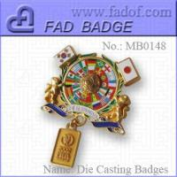 Buy cheap Die-Casting Badges from wholesalers