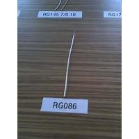 Wholesale RG086RG PTFE Insulated semi-flexible coaxial cable from china suppliers