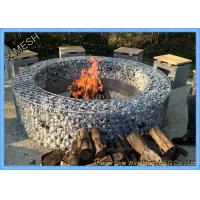 Buy cheap Hot Dipped Galvanized Garden Welded Gabion Retaining Wall / Welded Gabion Stone Cage Box from wholesalers