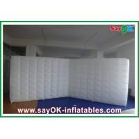 Buy cheap Inflatable Partition Wall /  Blown Up Led Light Joint Wall For Wedding from wholesalers