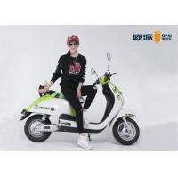 Buy cheap Newly Design Electric Pedal Moped , Ladies Electric Scooter Long Range from wholesalers
