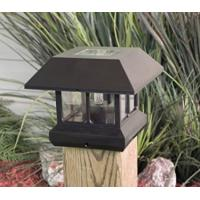 Wholesale Waterproof  Green Solar Post Cap Lights 4x4 , Solar Powered Lamp Post Lights from china suppliers