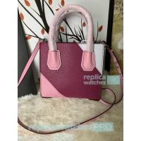 Buy cheap New Knockoff Michael Kors Mercer Purple Genuine Leather Women's Bag from wholesalers