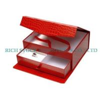 Wholesale wooden jewellry Boxes,Crocodile Striae Jewelry Box from china suppliers