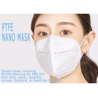 Buy cheap 3 Layer Breathable KN95 Medical Mask Anti Virus PTFE Public Place Application from wholesalers
