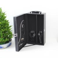 Wholesale Leather Black Rigid Whisky Wine Packing Boxes Cardboard Paper from china suppliers