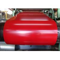 0.35*1220*C Foam Colorful Pre Painted Steel Sheet For Steel Roofing / Cold Room