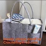 Buy cheap basket nursery storage felt diaper caddy, multi pocket felt diaper caddy bulk buy from China from wholesalers