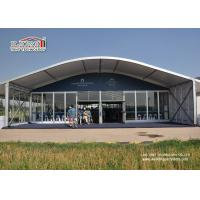 Buy cheap Dome Shape Outdoor Party Tent Tempered Glass Walls And Glass Door from wholesalers