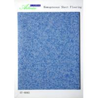 Buy cheap PVC homogeneous Flooring , Non-direction homogeneous pvc flooring, Commercial PVC Flooring in rolls from wholesalers