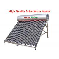 Buy cheap Stainless Steel Evacuated Tube Solar Hot Water Heater Freestanding Installation from wholesalers