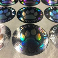 Buy cheap Durable Laser Sticker Custom Hologram Sticker Color Laser Warning Sticker from wholesalers