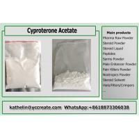 Buy cheap Anti-Androgen Steroid Powder Cyproterone Acetate / CPA / Cyprostat Hormone Therapy CAS 427-51-0 from wholesalers