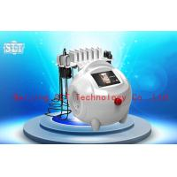 Buy cheap Red Diode Lipo Laser Slimming Machine / Ultrasonic Cavitation RF Fat Removal Beauty Machine from wholesalers