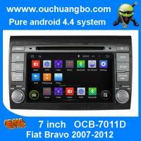 Buy cheap Ouchuangbo Car GPS Stereo DVD Radio 3G Wifi Bluetooth for Fiat Bravo 2007-2012 Android 4.4 from wholesalers