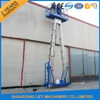 Buy cheap 14m High Rise Window Cleaning Lift System , Aerial Wok Hydraulic Work Platform Lift from wholesalers