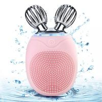 Buy cheap Electric Facial Cleansing Brush Deep Clean & Skin Care Roller Massage Exfoliator from wholesalers