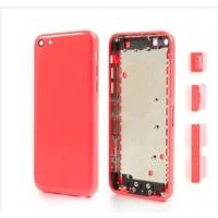 Wholesale Pink Housing Faceplates with Side Buttons for iPhone 5C,wholesale factory outlet from china suppliers