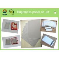 Buy cheap Box Packaging Material Food Board Paper , Custom Printed Cardboard 450gsm 889Mm product