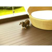 Buy cheap Recyclable WPC Deck Flooring , Anti - UV Engineered WPC Decking Lumber from wholesalers
