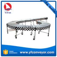 Buy cheap Gravity Roller Flexible Conveyors applied in loading docks/plant floors/shipping areas from wholesalers