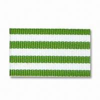 Buy cheap Garment Webbing, Suitable for Flower and Bows, Available in Various Materials, Colors and Widths from wholesalers