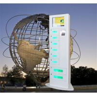 Buy cheap Network Smart Charging Locker , Cell Phone Charging Machine Android Touch Digital AD from wholesalers